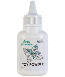 Пудра для игрушек ароматизированная Love Protection Мята 15 г