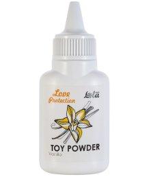 Пудра для игрушек ароматизированная Love Protection Ваниль 15 г
