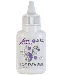 Пудра для игрушек ароматизированная Love Protection Лесные ягоды 15 г