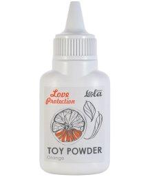 Пудра для игрушек ароматизированная Love Protection Апельсин 15 г