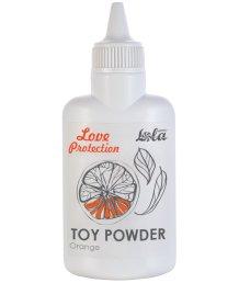 Пудра для игрушек ароматизированная Love Protection Апельсин 30 г