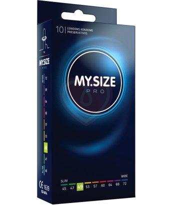 Уменьшенные презервативы MY.SIZE №49 10шт