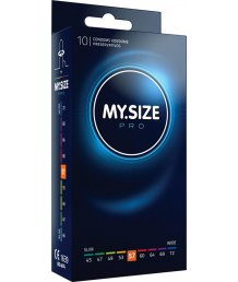 Презервативы увеличенного размера MY.SIZE №57 10шт