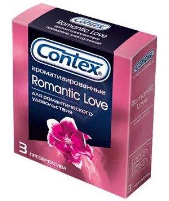 Презервативы Contex Romantic Love ароматизированные 3 шт