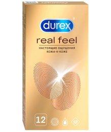Презервативы для естественных ощущений Durex Real Feel 12 шт