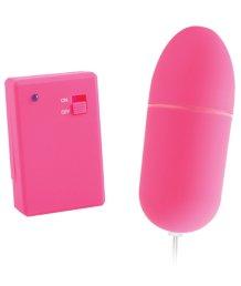 Виброяйцо с пультом управления Neon Luv Touch Bullet розовый