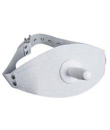 Страпон-бондаж на бедро белый