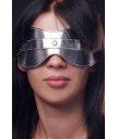 Маска на глаза Sitabella серебряная