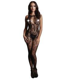 Кружевной костюм-сетка с интимным вырезом Le Desir