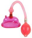 Помпа для вагины и клитора Pussy Pump розовая