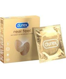 Презервативы для естественных ощущений Durex Real Feel 3 шт
