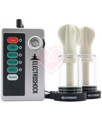 Помпы для сосков с электростимуляцией Shots Electro Nipple Suckers