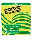 Ультратонкие презервативы Ganzo Ultra thin 3шт