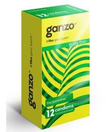 Презервативы Ganzo Ultra thin ультратонкие 12шт