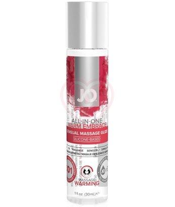 Массажный гель-масло All-In-One Massage Warm Embrace 30 мл
