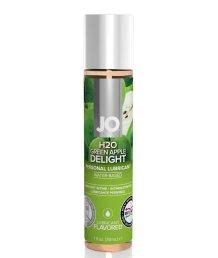 Съедобный лубрикант System JO H2O Flavored Green Apple с ароматом Яблоко 30 мл