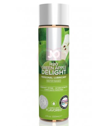 Съедобный лубрикант System JO H2O Flavored Green Apple с ароматом Яблоко 120мл