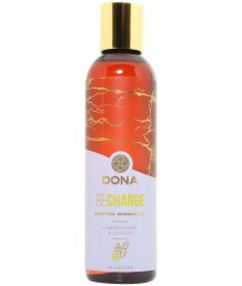 Массажное масло Dona Recharge лемонграсс и имбирь 120 мл