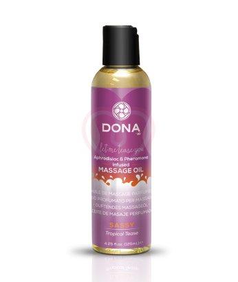 Массажное масло с феромонами Dona Scented Oil Sassy Aroma Tropical Tease 125 мл