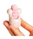 Клиторальный вибростимулятор Sqweel Go White белый