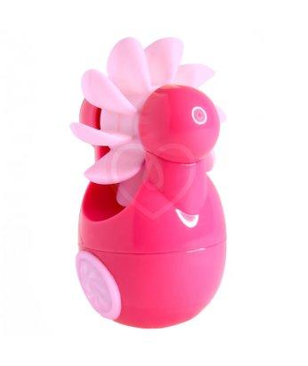 Клиторальный вибростимулятор Sqweel Go Pink розовый