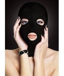 Маска с вырезами для глаз и рта Ouch! Subversion Mask черная