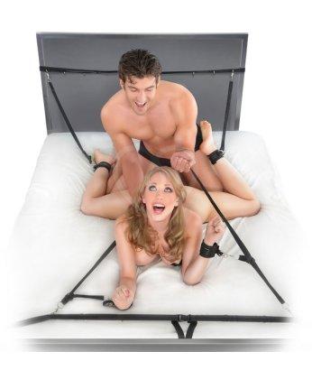 Бондаж с креплениями под матрас Ultimate Bed Restraint System