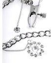 Зажимы на соски с украшением Crystal Nipple Clamps