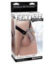 Кольцо верности Pipedream Chastity Belt с фиксацией головки с поясом