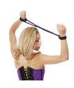 Фиксаторы Японский шелк Pipedream Silk Rope Love Cuffs чёрные