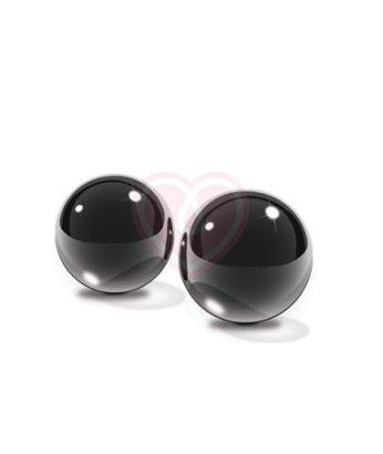 Стеклянные вагинальные шарики Pipedream Glass Ben-Wa Balls Medium