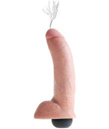 Фаллоимитатор с эффектом семяизвержения Squirting Cock 18 см