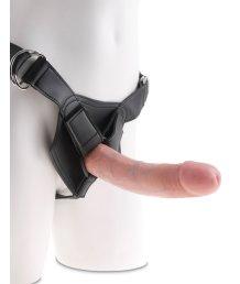 Страпон с реалистичной насадкой Strap-on Harness Cock 20см