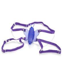 Вибратор для клитора с бабочкой Micro-Wireless Venus Butterfly фиолетовый