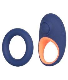 Пара эрекционных колец Link Up Verge синий-оранжевый