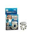 Эрекционное вибро-кольцо Waterproof Maximus Enhancement Ring с 10 металлическими шариками