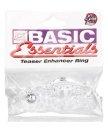 Эрекционное кольцо Basic Esntls-Teaser Enhcr Ring стимулирующее прозрачное
