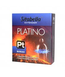 Презерватив Sitabella Platino plus Вулкан с усиками 1шт