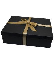Большая подарочная коробка 35х27 см черная
