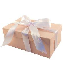 Подарочная коробка 21х14 см бежевая