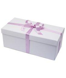 Средняя подарочная коробка 26х13 см белая