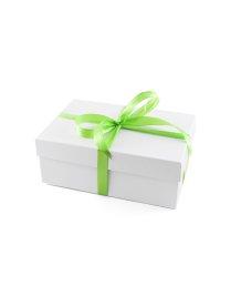 Маленькая подарочная коробка 21х14 см белая