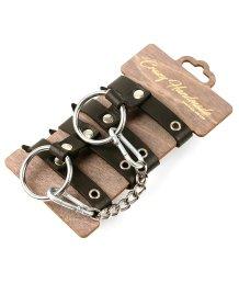 Кожаные наручники из двух ремешков Crazy Handmade