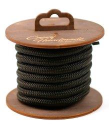 Нейлоновая веревка для шибари на катушке черная 3 м