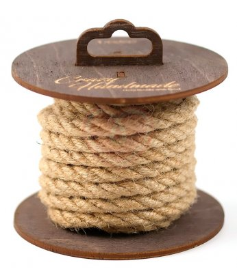 Джутовая веревка для шибари на катушке 3 м