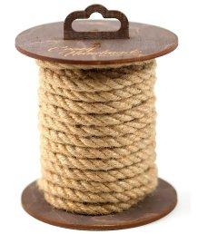 Джутовая веревка для шибари на катушке 5 м