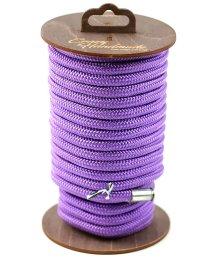 Нейлоновая веревка для шибари на катушке фиолетовая 10 м