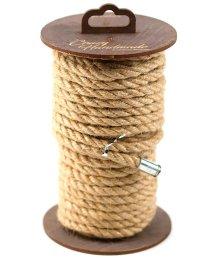 Джутовая веревка для шибари на катушке 10 м