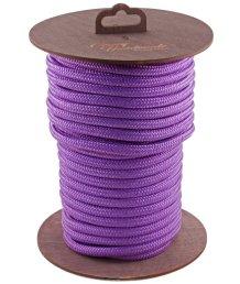Нейлоновая веревка для шибари на катушке фиолетовая 20 м
