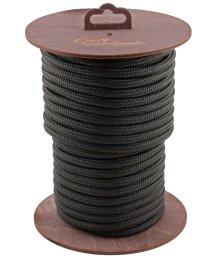 Нейлоновая веревка для шибари на катушке чёрная 20 м